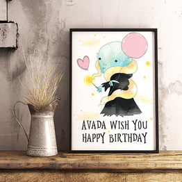 Avada Wish You Happy Birthday