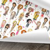 Fashionista Geschenkpapier