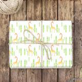 Giraffe Geschenkpapier