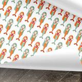 Meerjungfrauen Geschenkpapier