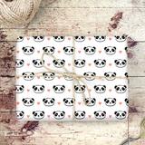Panda Geschenkpapier
