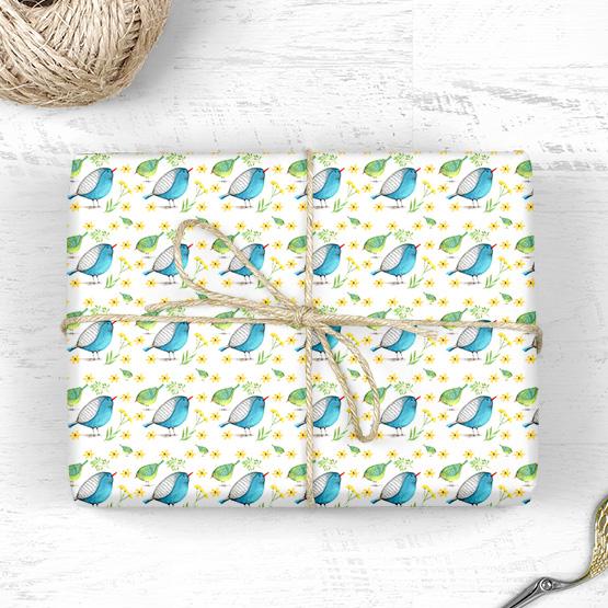 Vogel Geschenkpapier