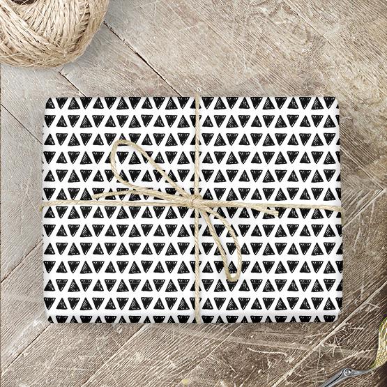 Dreiecke Geschenkpapier