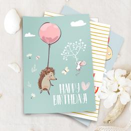 Geburtstags Bundle 1 - Set aus 11 Karten