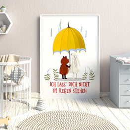 Ich lass' dich nicht im Regen stehen