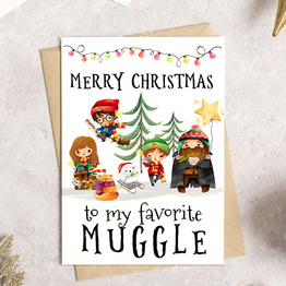 Merry Christmas to my favorite Muggle