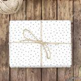 Punkte Geschenkpapier