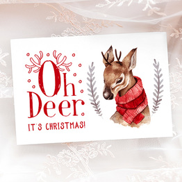 Oh Deer It's Christmas
