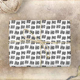 Hohoho Geschenkpapier