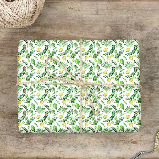 Pflanzen Geschenkpapier