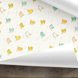 Vögelchen Geschenkpapier