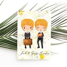 Fred & George Weasley