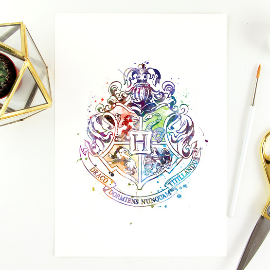 Hogwarts (bunt)